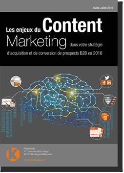 Guide du Content Marketing