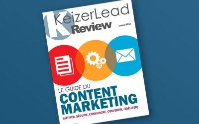 Livre Blanc «le Guide du Content Marketing dans votre stratégie B2B